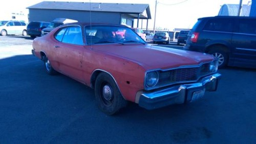 1976 dodge dart swinger 2 door coupe for sale in north. Black Bedroom Furniture Sets. Home Design Ideas