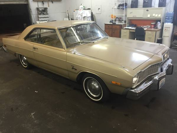 1976 dodge dart swinger 2dr coupe 225 slant 6 for sale in. Black Bedroom Furniture Sets. Home Design Ideas