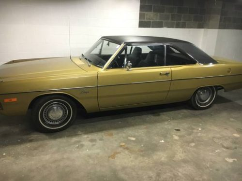 1972 dodge dart swinger slant 6 auto for sale in. Black Bedroom Furniture Sets. Home Design Ideas