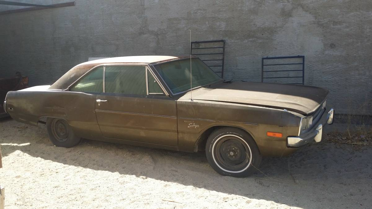 1972 Dodge Dart Swinger 2DR Coupe 318 V8 Auto For Sale in Los ...